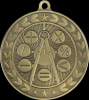 Illusion Academic Math Medals Scholastic Trophy Awards