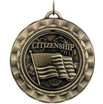 Citizenship Spin 360 Series Medal Awards