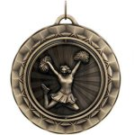 Cheerleading Spin 360 Series Medal Awards