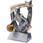 3D Resin F. Basketball 3D RST Series Resin Trophy Awards