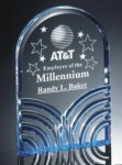 Millennium Curved Acrylic Award Achievement Awards