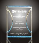 Hour Glass Plaque Acrylic Award Achievement Awards
