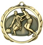 Basketball (Male) Medal Basketball Trophy Awards