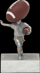 Flag Football Bobble Head Bobble Head Resin Trophy Awards