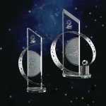 Celestial Clear Optical Crystal Awards
