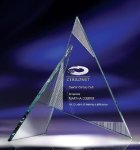 Zephyr Clear Optical Crystal Awards
