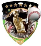 Baseball Medal Color Shield Medal Awards