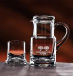 Executive Water Set Crystal Barware Stemware