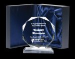 Corporate Crystal Octagon Crystal Glass Awards