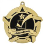 Attendance Super Star Medal Dance Trophy Awards