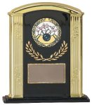 Black/Gold Roman Column Award Economy Acrylic Awards