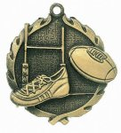 Wreath Rugby Medal Football Trophy Awards