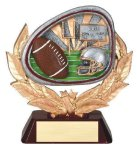 Stamford Resin Football Football Trophy Awards