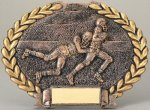 Football Oval Plate Football Trophy Awards