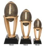 Football Tower Resin Football Trophy Awards