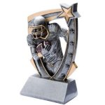 3D Resin Football Football Trophy Awards