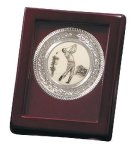 Nickel Plated Golf Medallion Game Gifts