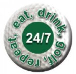 Ball Marker 24/7 Golf Gift Items