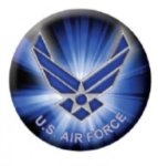 Ball Marker Air Force Golf Gift Items