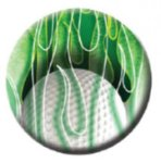 Ball Marker Ball/Green Flames Golf Gift Items
