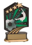 Soccer Resin Trophy Graphic Star Resin Trophy Awards