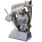 3D Resin Hockey Goalie Hockey Trophy Awards