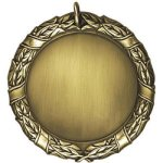 2 Blank Wreath Insert Medallion Awards
