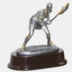 Female Lacrosse Defense Lacrosse Trophy Awards