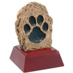 Paw Print Resin Mini-Series Resin Trophy Awards