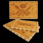 Bamboo Cutting Board with Butcher Block Edge Misc. Gift Awards