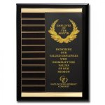 Channel Plaque Monthly Perpetual Plaques