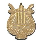 Music Lyre Chenille Pin Music Trophy Awards