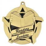 Readers and Leaders Super Star Medal Scholastic Trophy Awards