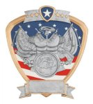 Signature Series Army Shield Award Signature Shield Resin Trophy Awards