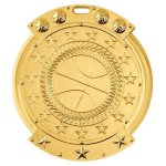 Basketball Sport Medallion SIM Medal Award Series