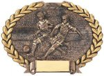 Soccer Plate Soccer Trophy Awards
