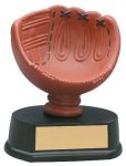 Softball Glove Resin Trophy Softball Trophy Awards