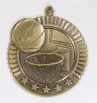 Star Basketball Medals Star Medal Awards