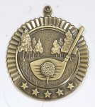 Star Golf Medals Star Medal Awards