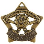 Soccer Fun Star Star Medal Awards