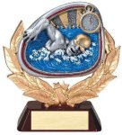 Stamford Resin Swimming Swimming Trophy Awards