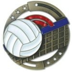 Enamel Volleyball Volleyball Trophy Awards