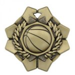 Imperial Basketball Medals  Wreath Medal Awards