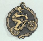 Wreath BMX Medal Wreath Medal Awards